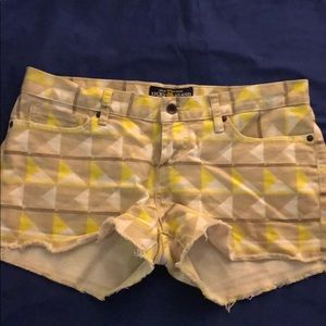 Lucky brand shorts size 8/29